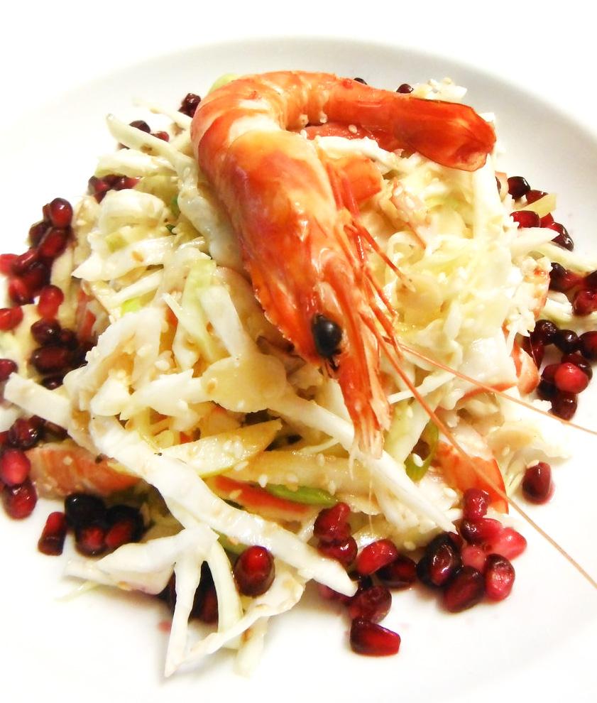 Seafood Coleslaw