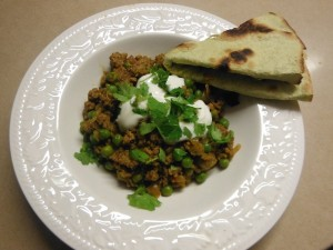 Kheema with Peas