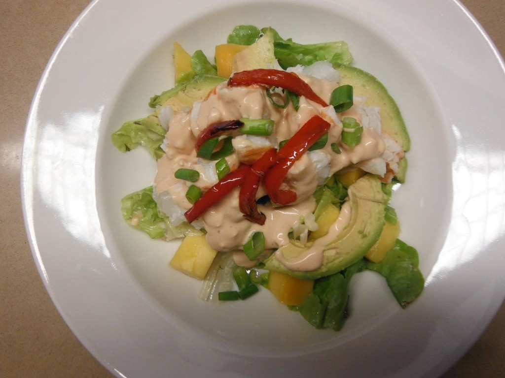 Lobster Mango and Avocado Salad