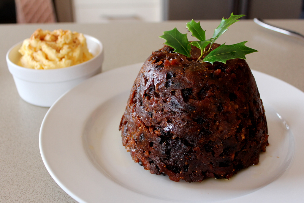 Christmas Pudding and Brandy Butter