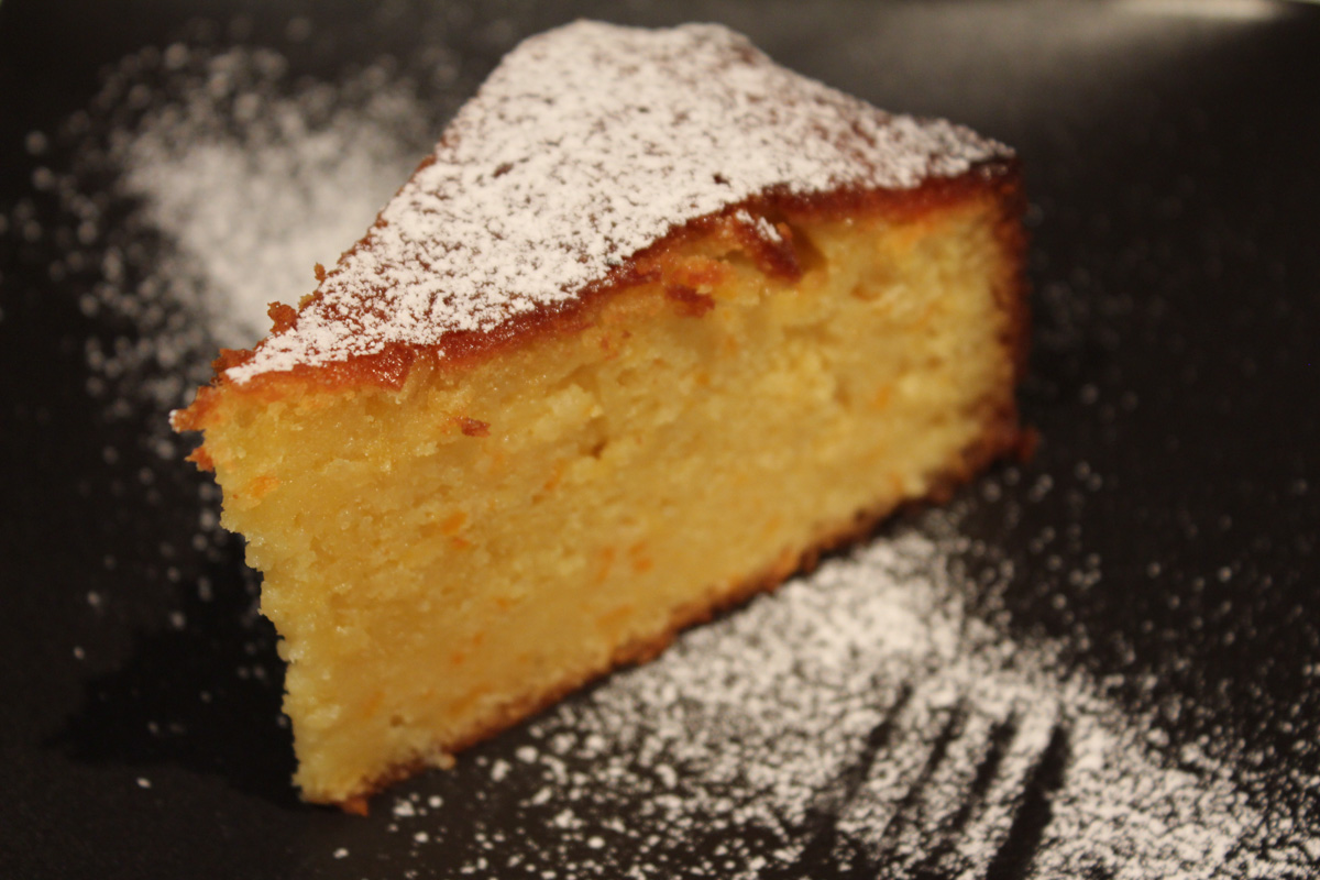 Good Food Orange And Almond Cake