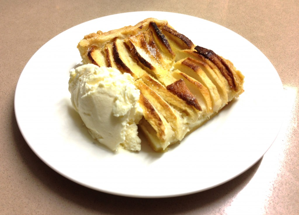 Apple Tart Rue de Vermont