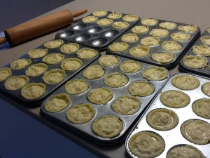 Mini Leek Quiches