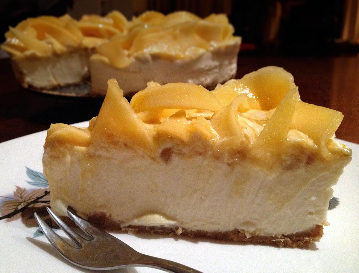 Salted Caramel & Macadamia Cheesecake Chocolate & Vanilla Cheesecake ...