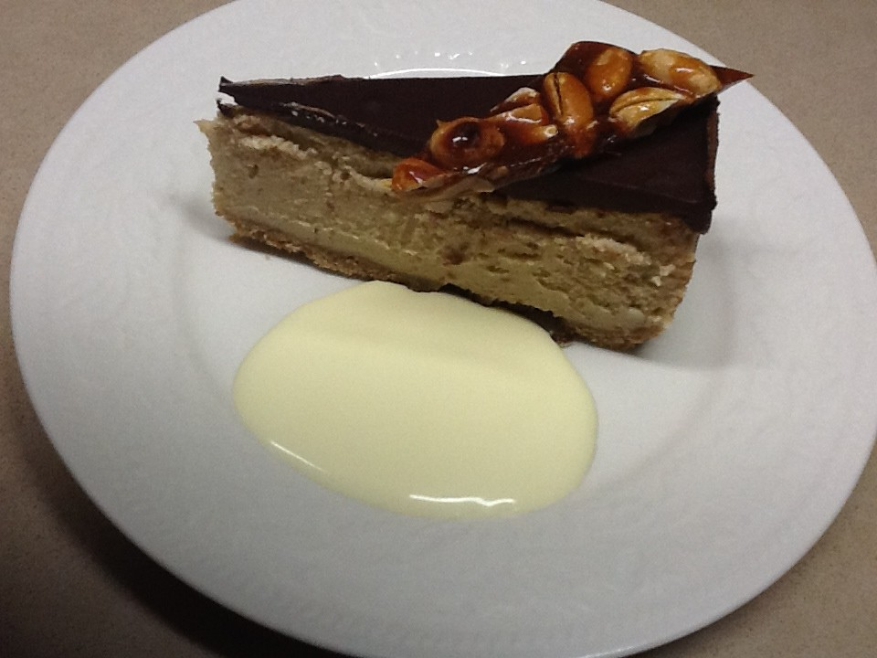 Recipes: Chocolate Peanut Butter Cheesecake with Salted Peanut Brittle
