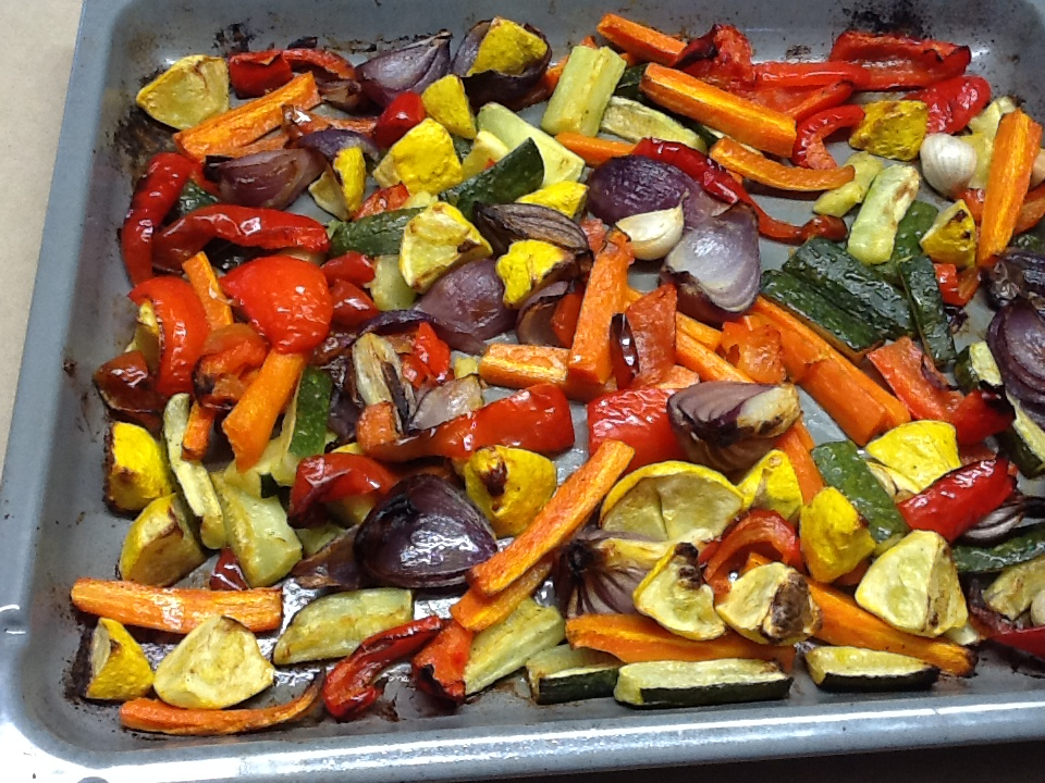 Recipes: Oven-Roasted Vegetables