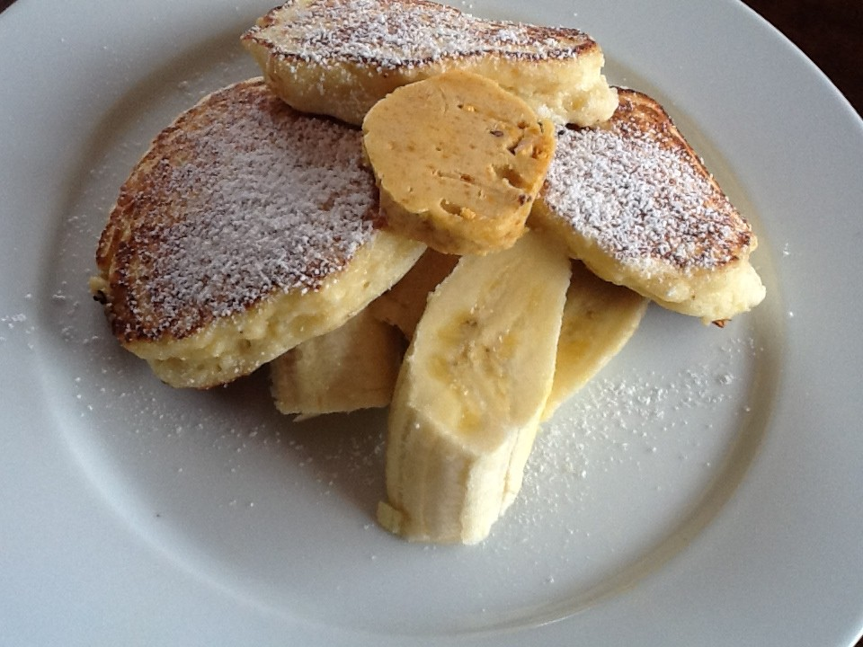 Recipes: Ricotta Hot Cakes with Honeycomb Butter