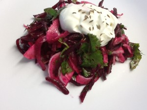 Beetroot and Fennel Salad