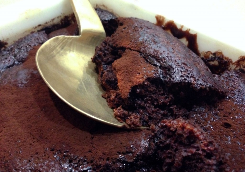 Chocolate Espresso Self-Saucing Pudding