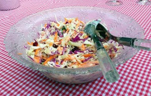 Tri-Colour Coleslaw