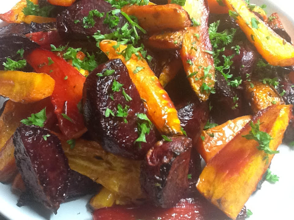 Roast Carrots and Beets