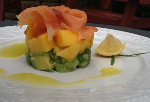 Smoked Salmon with Mango & Avocado