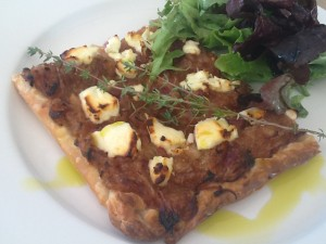 Red Onion and Goat's Cheese Tart