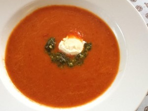 Maggie's Roast Tomato & Pepper Soup